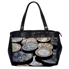 Foreign Coins Office Handbags by trendistuff