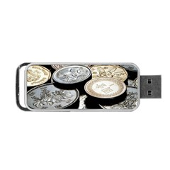 FOREIGN COINS Portable USB Flash (One Side) by trendistuff