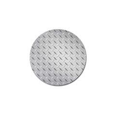 Diamond Plate Golf Ball Marker (4 Pack) by trendistuff
