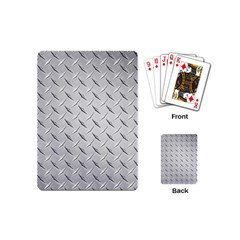 Diamond Plate Playing Cards (mini)  by trendistuff