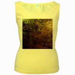 CORROSION 2 Women s Yellow Tank Tops by trendistuff