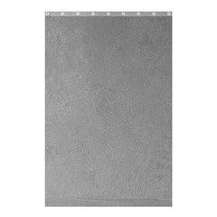 GREY SUEDE Shower Curtain 48  x 72  (Small)  by trendistuff