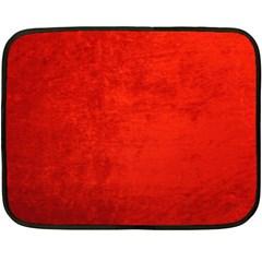 Crushed Red Velvet Fleece Blanket (mini) by trendistuff