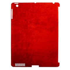 Crushed Red Velvet Apple Ipad 3/4 Hardshell Case (compatible With Smart Cover) by trendistuff