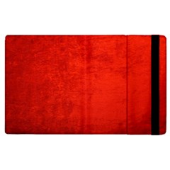 Crushed Red Velvet Apple Ipad 3/4 Flip Case by trendistuff