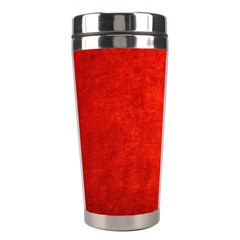 Crushed Red Velvet Stainless Steel Travel Tumblers by trendistuff