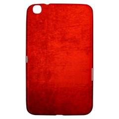 Crushed Red Velvet Samsung Galaxy Tab 3 (8 ) T3100 Hardshell Case  by trendistuff