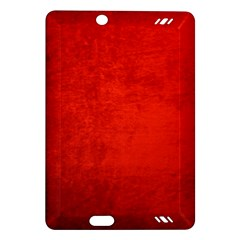 Crushed Red Velvet Kindle Fire Hd (2013) Hardshell Case by trendistuff