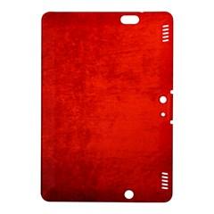 Crushed Red Velvet Kindle Fire Hdx 8 9  Hardshell Case by trendistuff