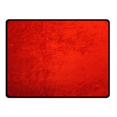 Crushed Red Velvet Double Sided Fleece Blanket (small)  by trendistuff