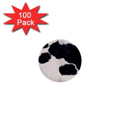Spotted Cow Hide 1  Mini Buttons (100 Pack)  by trendistuff