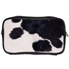 Spotted Cow Hide Toiletries Bags by trendistuff