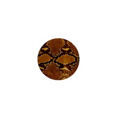 Snake Skin 1  Mini Magnets by trendistuff