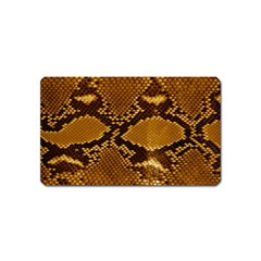 Snake Skin Magnet (name Card) by trendistuff