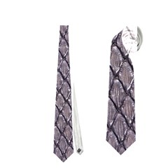 Silver Snake Skin Neckties (two Side)  by trendistuff