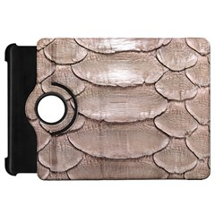 Scaly Leather Kindle Fire Hd Flip 360 Case by trendistuff