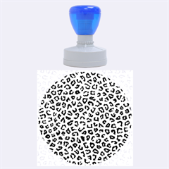 Leopard Fur Rubber Round Stamps (large) by trendistuff