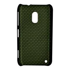 GREEN REPTILE SKIN Nokia Lumia 620
