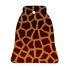 Giraffe Hide Bell Ornament (2 Sides) by trendistuff