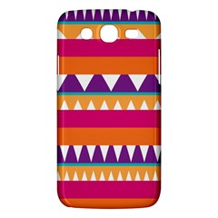 Stripes And Peaks Samsung Galaxy Mega 5 8 I9152 Hardshell Case  by LalyLauraFLM