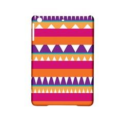 Stripes and peaks Apple iPad Mini 2 Hardshell Case by LalyLauraFLM
