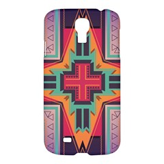 Tribal Star Samsung Galaxy S4 I9500/i9505 Hardshell Case by LalyLauraFLM