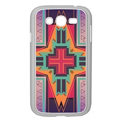 Tribal Star Samsung Galaxy Grand Duos I9082 Case (white) by LalyLauraFLM