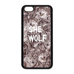 She Wolf iPhone 5C seamless Phonecase - Apple iPhone 5C Seamless Case (Black)
