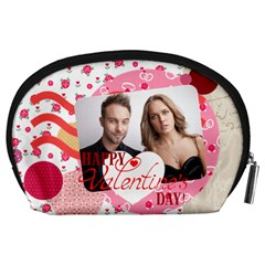 Love By Love   Accessory Pouch (large)   6br2vt0talz3   Www Artscow Com Back