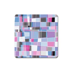 Patches Magnet (square) by LalyLauraFLM