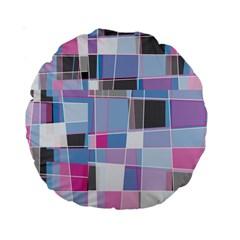 patches  Standard 15  Premium Round Cushion  by LalyLauraFLM