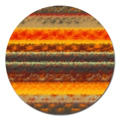 Fading Shapes Texture Magnet 5  (round) by LalyLauraFLM