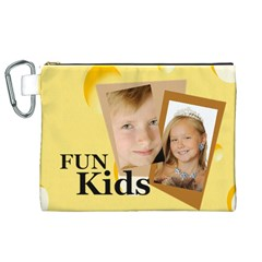 Kids By Kids   Canvas Cosmetic Bag (xl)   Qde4xlr8dxo7   Www Artscow Com Front