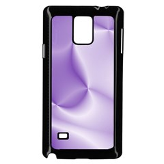 Colors In Motion, Lilac Samsung Galaxy Note 4 Case (Black) by MoreColorsinLife