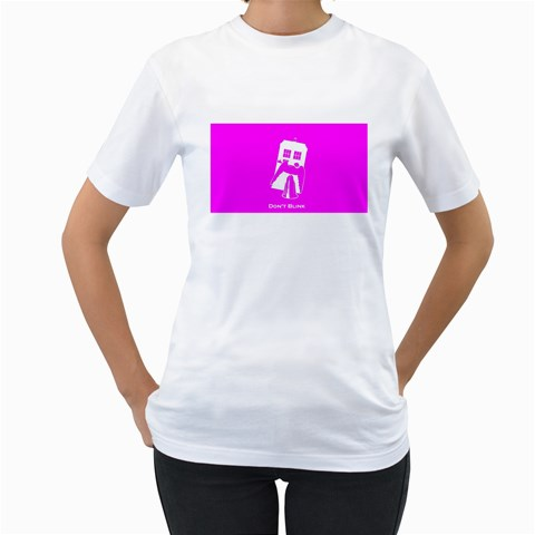 Mum Tshirt By Shirley Edward   Women s T Shirt (white)    O2cpteq2wycn   Www Artscow Com Front