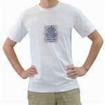 Dads Shirt - Men s T-Shirt (White)