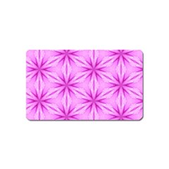 Cute Pretty Elegant Pattern Magnet (name Card) by creativemom