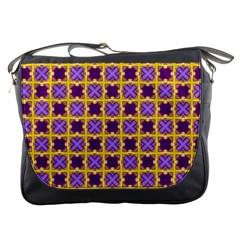 Cute Pretty Elegant Pattern Messenger Bags by creativemom