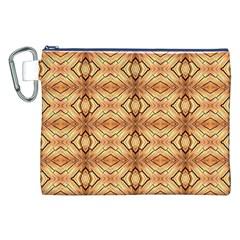 Faux Animal Print Pattern Canvas Cosmetic Bag (xxl)  by creativemom