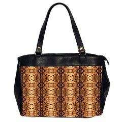 Faux Animal Print Pattern Office Handbags (2 Sides)  by creativemom