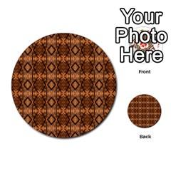 Faux Animal Print Pattern Multi-purpose Cards (Round)  by creativemom