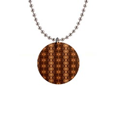 Faux Animal Print Pattern Button Necklaces by creativemom