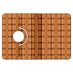 Faux Animal Print Pattern Kindle Fire Hdx Flip 360 Case by creativemom