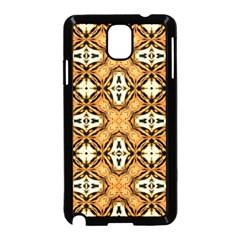 Faux Animal Print Pattern Samsung Galaxy Note 3 Neo Hardshell Case (Black) by creativemom