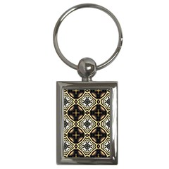 Faux Animal Print Pattern Key Chains (rectangle)  by creativemom
