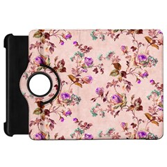 Antique Floral Pattern Kindle Fire HD Flip 360 Case by LovelyDesigns4U