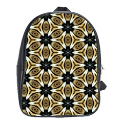 Faux Animal Print Pattern School Bags(large)  by creativemom