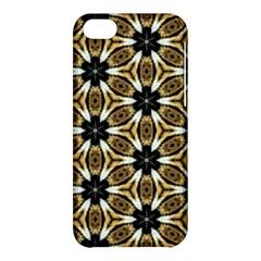 Faux Animal Print Pattern Apple Iphone 5c Hardshell Case by creativemom