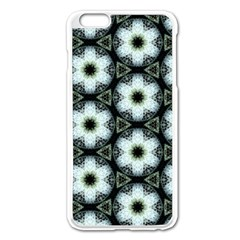 Faux Animal Print Pattern Apple Iphone 6 Plus/6s Plus Enamel White Case by creativemom