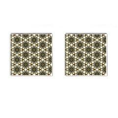 Faux Animal Print Pattern Cufflinks (square) by creativemom